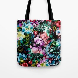 Multicolor Floral Pattern Tote Bag