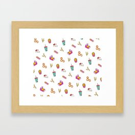 Fast Food Dreamz Framed Art Print