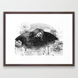 Oh, Sandy. Framed Art Print