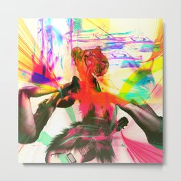 Hollywood Rockstar Metal Print