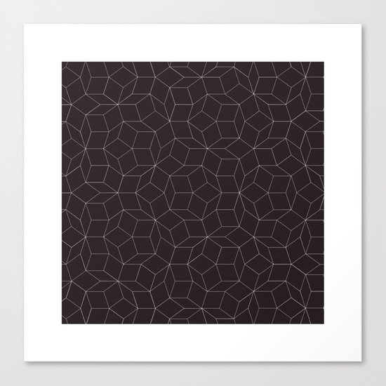 #41 Hello Mr Penrose, I'm your biggest fan. – Geometry Daily Canvas Print