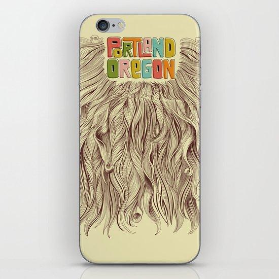 Portland = Beards iPhone & iPod Skin
