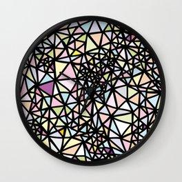 Glass Jewerly Wall Clock