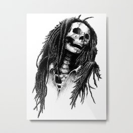 the Legend of Reggae Metal Print