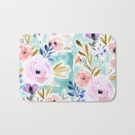 Willow Floral Bath Mat