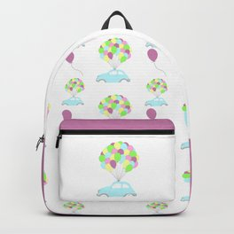 Up Car pattern Backpack