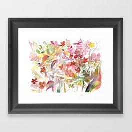 Wild flowers IV Framed Art Print