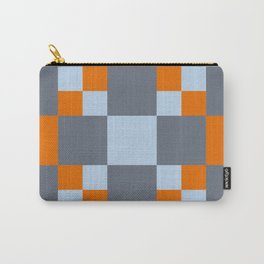 3D Patchwork Pattern Carry-All Pouch