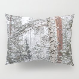 Winter in the Mountains Pillow Sham