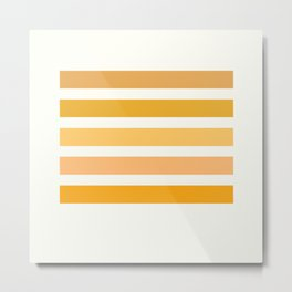 Sunburst Art Print Metal Print