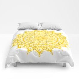 Sunflower-Yellow Comforters