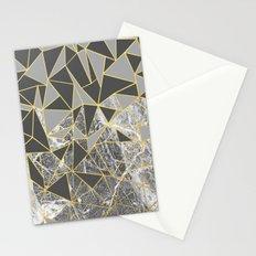 Ab Marb Grey Returned Stationery Cards