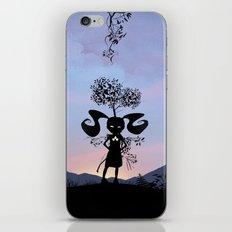 Poison Ivy Kid iPhone & iPod Skin