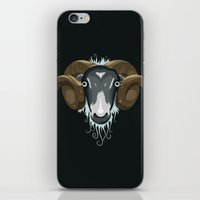 ram iPhone & iPod Skins featuring Ram by Compassion Collective