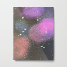 Libra Constellation Metal Print