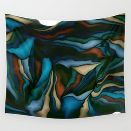 blue smudge Wall Tapestry
