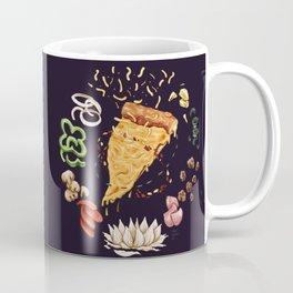 Pizza Mandala Coffee Mug