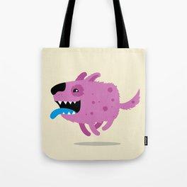 Purple dog Tote Bag