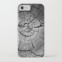 tree rings iPhone & iPod Cases featuring Rings by Jacob Haynes