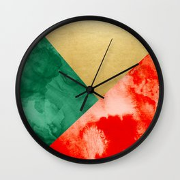 Holiday Spirit #society6 #buyart #decor Wall Clock
