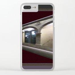 Imaginary Corridors Clear iPhone Case