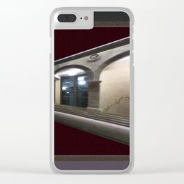 Imaginary Corridors Clear iPhone Case