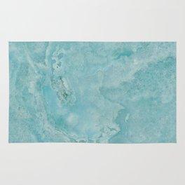 Turquoise Sea Marble Rug