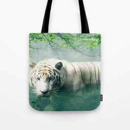 Lonely Tiger 2 Tote Bag