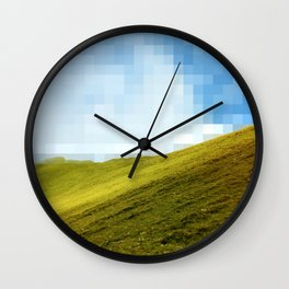 High compression clouds Wall Clock