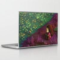 starcraft Laptop & iPad Skins featuring Infest by Rekka Bellum