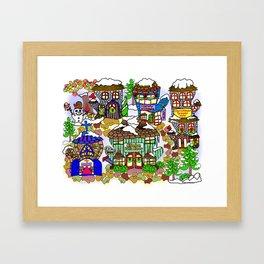 Mittenham Framed Art Print