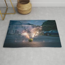 4th of July 'Fireworks' Rug