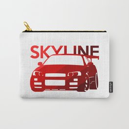 Nissan Skyline GT-R  - classic red - Carry-All Pouch