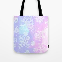Snow on Christmas Day Tote Bag