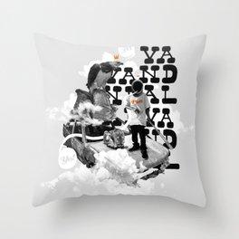 Vandal Throw Pillow
