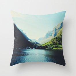 Mountains XII Throw Pillow