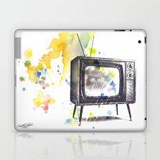 Retro Television Painting Laptop & iPad Skin
