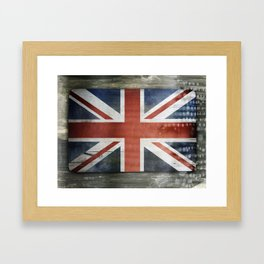 Great Britain, Union Jack Framed Art Print