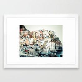 Cinque Terre. Framed Art Print