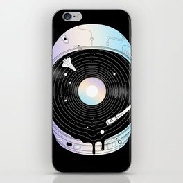In the Presence of a Deafening Silence iPhone Skin