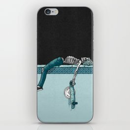 Skate 'til Late iPhone Skin