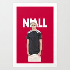One Direction - Niall Horan Art Print