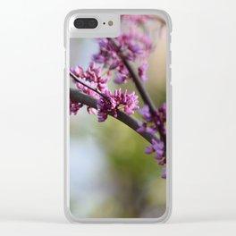 Fiore Rosa Clear iPhone Case