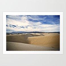 Sand Dunes and Ocean Views Art Print
