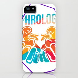 Nephrologist Polygon Gift iPhone Case
