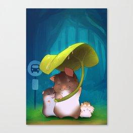 Hamster Ghibli Canvas Print