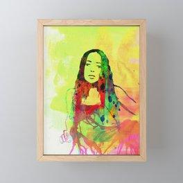 Legendary Fiona Apple Framed Mini Art Print