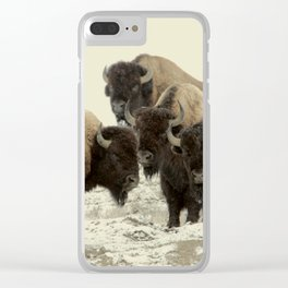 American Buffalo Clear iPhone Case