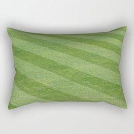 Play Ball! - Freshly Cut Grass - For Bar or Bedroom Rectangular Pillow
