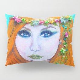 Redhead Poison Ivy Goddess Pillow Sham